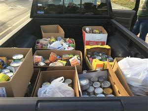 Cans for our Food Pantry