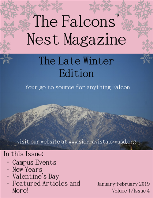 Late Winter Edition-Falcon's Nest