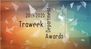 Traweek Department Awards for 19-20