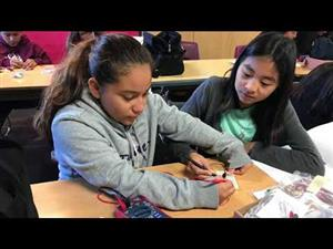 Femineers soldering during Titan Saturday Academy
