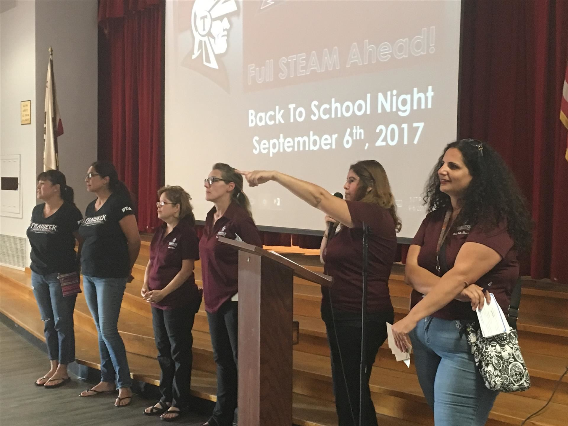 Back to School Night/Title I Parent Meeting