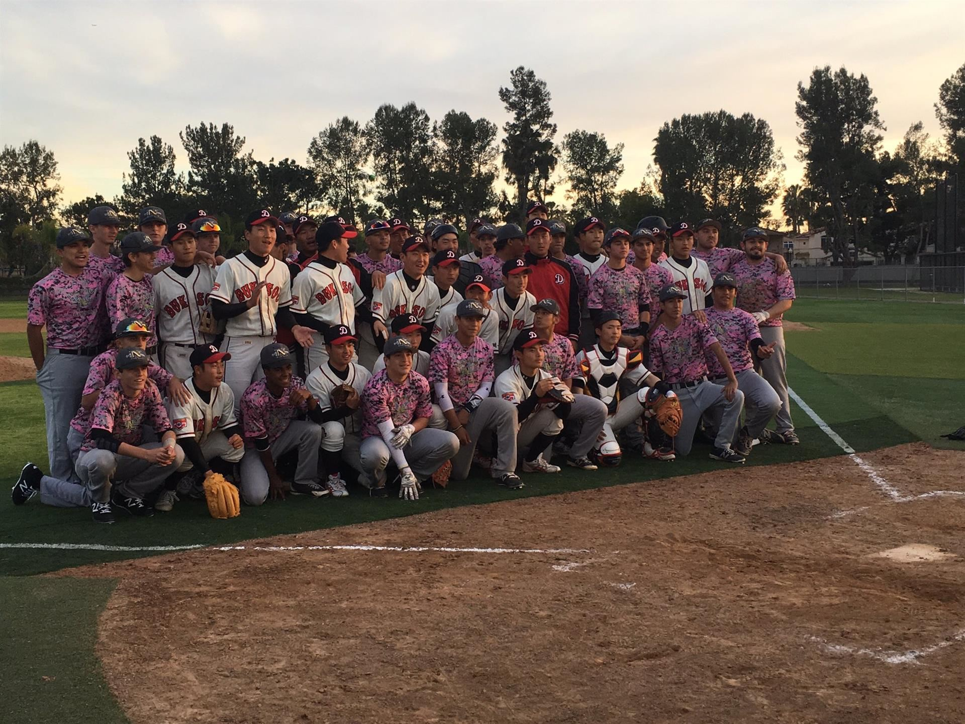 NHS Baseball Hosts Korean Team!