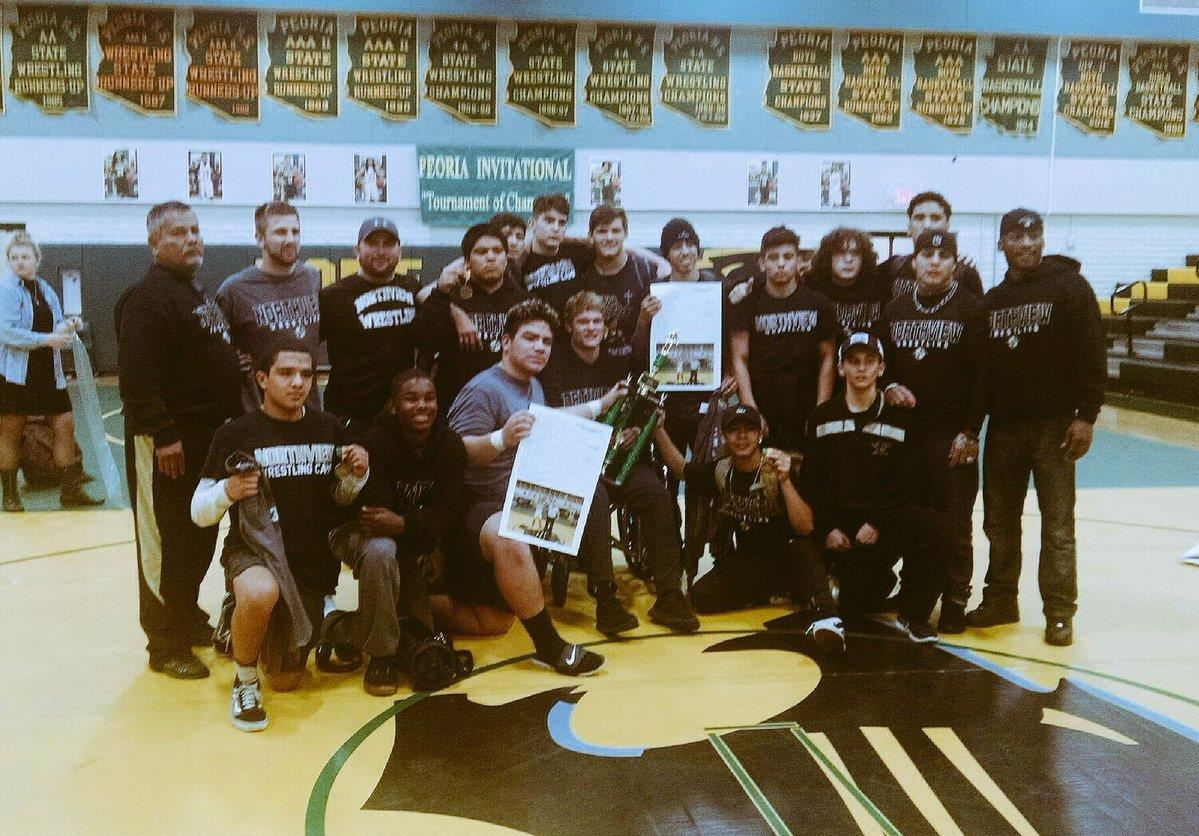 Boys' Wrestling League Champs!