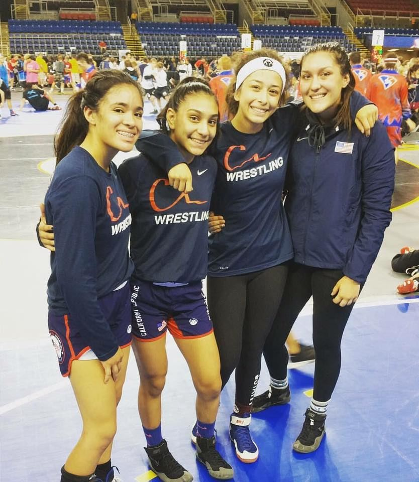 NHS Wrestlers Compete at Nationals!
