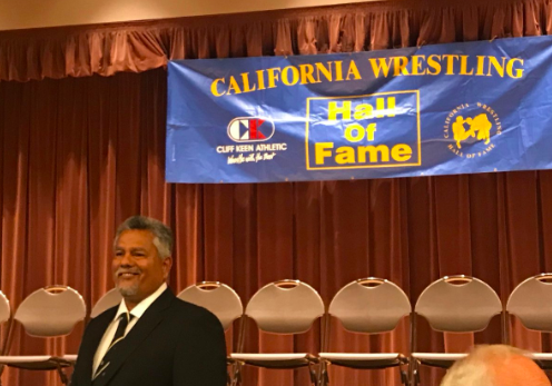 David Ochoa at the Hall Fame Banquet in Laguna Hills