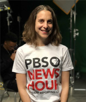 Amy Woods with PBS News Hour