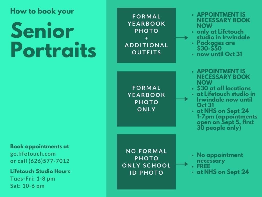 How to book your senior portraits