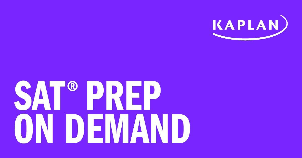 FREE 6-Month Trial for Online SAT Prep