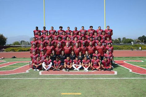 Varsity Football Group Photo
