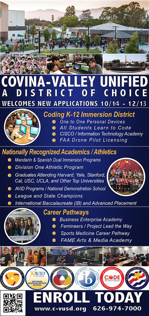 District of Choice Flyer