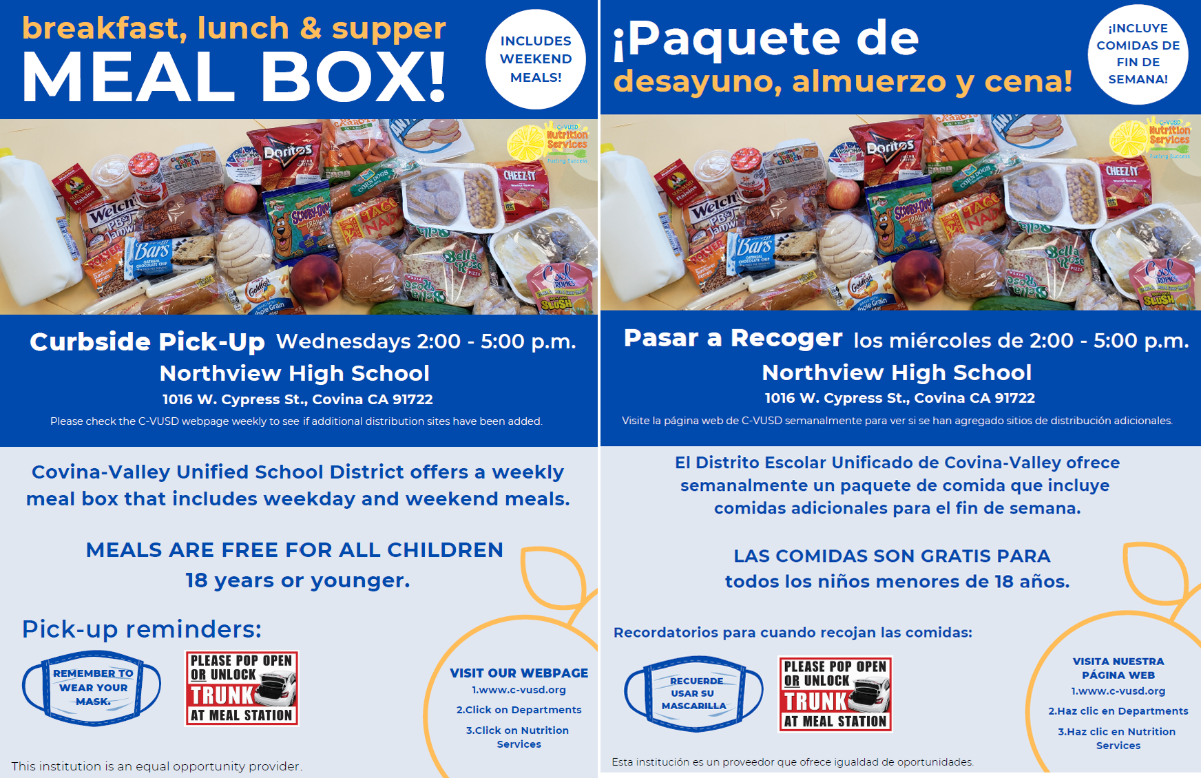 Meal Box Flyer