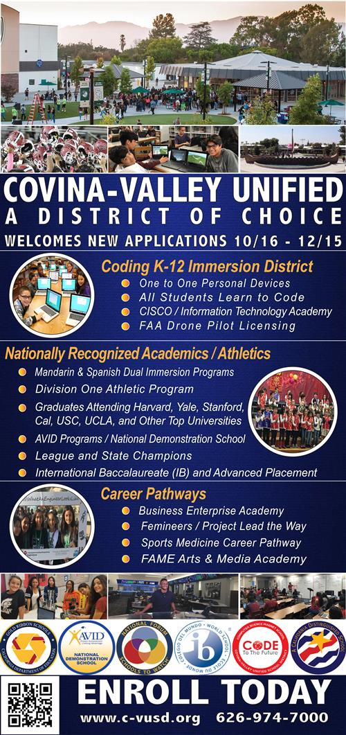 Newspaper Ad for District of Choice