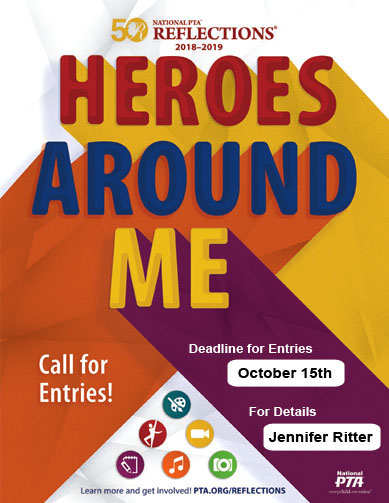 Heroes Around Me Poster for Reflectons